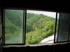 豊礼の湯 内湯の窓