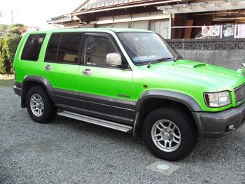 ビッグホーン 緑色