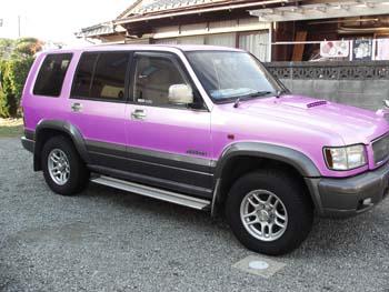 ビッグホーン 薄紫色